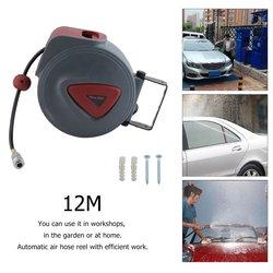 Высокое качество эффективная работа сжатый воздушный шланг катушка автомобильная автоматическая выдвижная катушка воздуходувка пневмати...