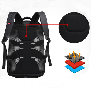 Image 4 - OIWAS School Bags 14 inch Laptop Backpacks Waterproof Nylon 29L Casual Shoulder Bagpack Travel Teenage Mens Backpack mochila