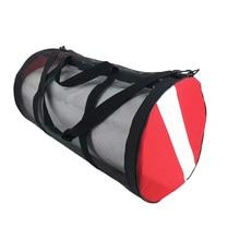 Backpack Storage Diving-Bags Dive-Flag Mesh Gear Shoulder Carrying Zipper Premium
