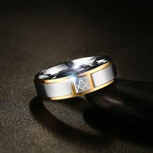 Vnox Для Мужчин's масонских Кольца ювелирные изделия Хирургическая