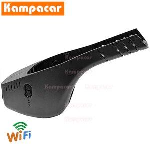 Image 3 - Kampacar VW15 C Wifi דאש מצלמת רכב Dvr מצלמה עבור פולקסווגן פולקסווגן פולו פאסאט B8 בורה CC גולף Sportsvan 7 מושב ליאון 1080P DashCam