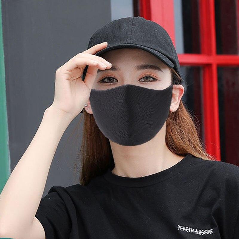 5 шт. Однотонная одежда без следов; Модная обувь унисекс; Анти пыль хлопковая маска для губ моющиеся вальвед маска для лица защитные маски|Маски| | АлиЭкспресс