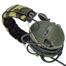 전술 전자 귀마개 픽업 소음 감소 Sordin 헤드폰 Airsoft 군사 전술 Softair 워키 토키 Headse FG