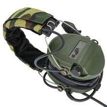 Тактические электронные наушники Sordin с шумоподавлением, наушники для страйкбола, военные тактические наушники Softair Walkie Talkie Headse FG