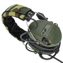 Tactical Electronic Earmuffs Pickup noise reduction Sordin Headphones Airsoft Military Tactical Softair Walkie Talkie Headse FG