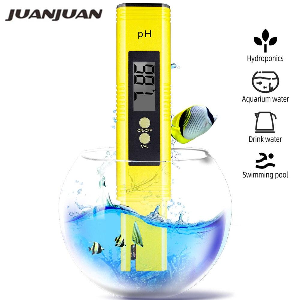 Protable LCD pH m/ètre num/érique Pen de testeur aquarium eau de la piscine Tester