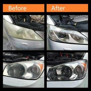 Image 2 - DIY zestaw do renowacji reflektorów reflektor rozjaśniacz polerowanie przywraca klarowność Anti scratch ochronna UV na reflektor samochodowy obiektyw