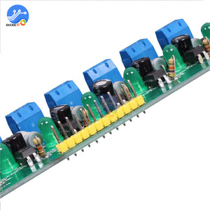 Image 5 - AC 220V MCU TTL Level 8 Channel Optocoupler Isolation Testing Board Isolated Detection Tester Module PLC Processors 8 Channel