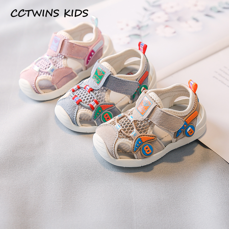Kids Shoes 2020 Summer Children Fashion Beach Sandals Baby Boys Brand Casual Shoes Girls Mesh Breathable Flat Toddlers 1006017