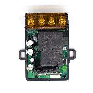 Image 5 - AC 85 V 260 V אלחוטי מרחוק בקר מתג AC 220V 110V מקסימום 40A ממסר מקלט מודול רחב מתח 433Mhz EV1527
