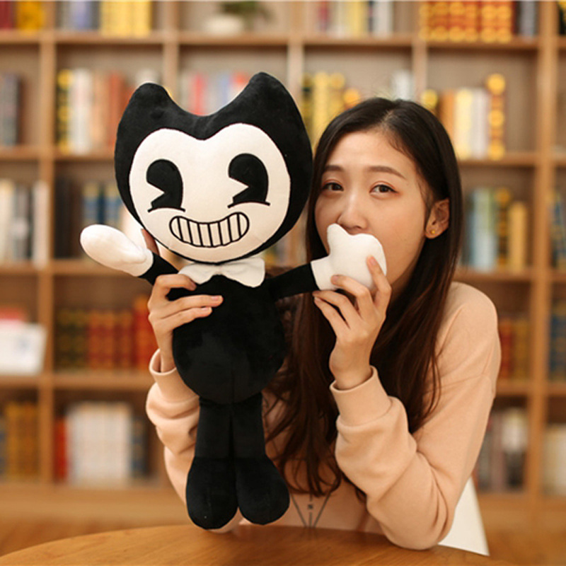 Halloween Gift Bandy and Ink Printer Thriller Game Plush Toy Size 30c/50cm Plush Doll Soft Toys For Children Kid Christmas Gift 2
