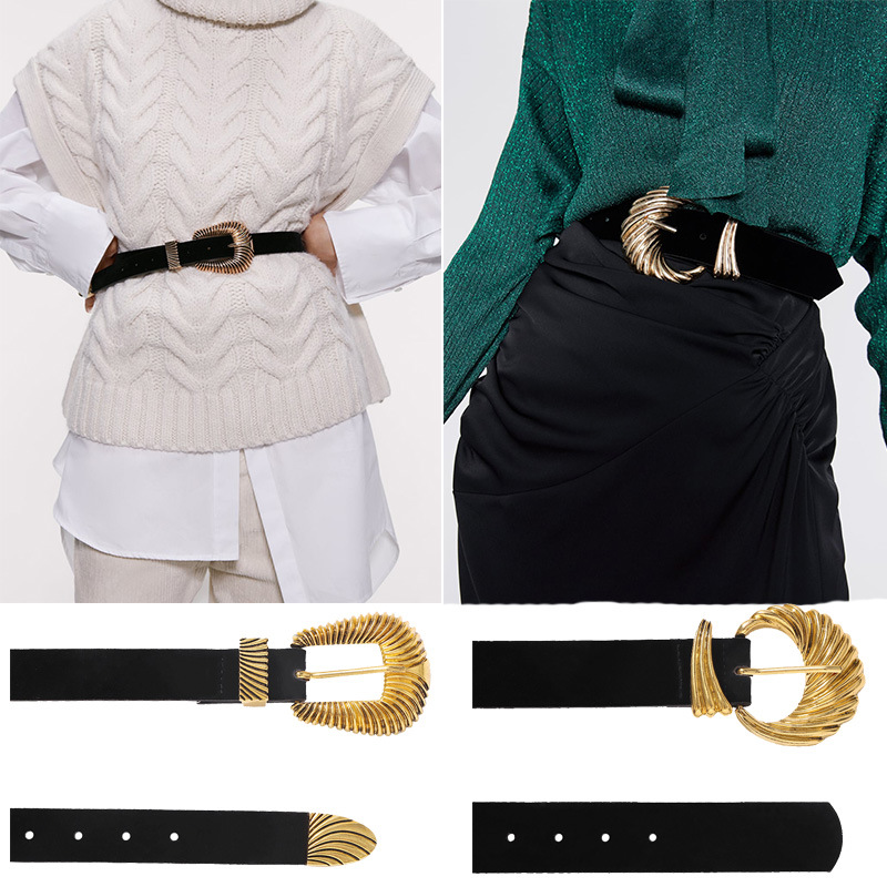 Brilliant Women's Belt Waist Chain Belt Luxury Large Party Waist Belt