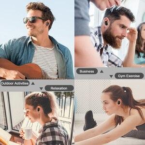 Image 5 - TWS M1 אלחוטי Bluetooth אוזניות Redmi Airdots אוטומטי זיווג אוזניות הפחתת רעש מוסיקה אוזניות עם מיקרופון עבור Smartphone