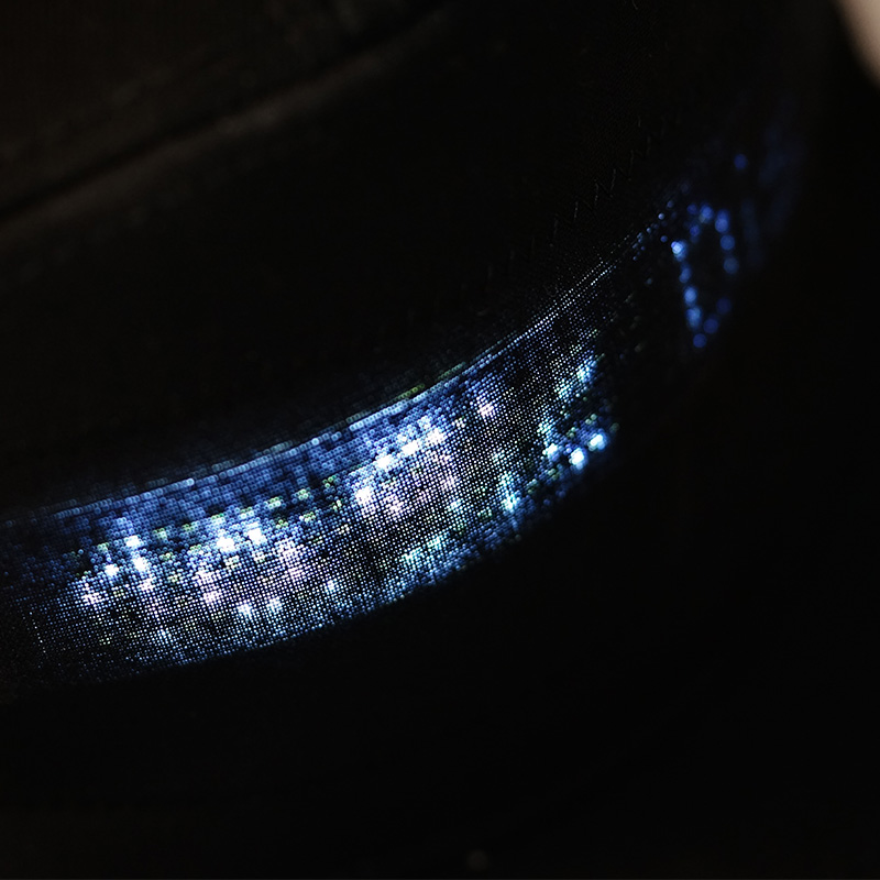 LED Message Hat with Scrolling Message and Bluetooth Used for Sports Dance and Party 4