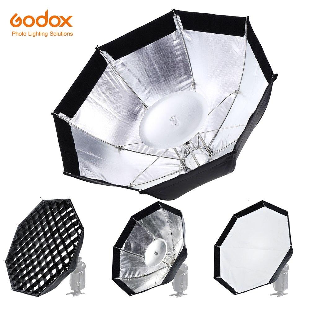 Godox AD-S7 boîte souple multifonctionnelle octogonale nid d'abeille grille parapluie Softbox pour WITSTRO Flash Speedlite AD180 AD200 AD360II