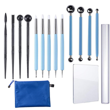 Clay Tools Kit Pottery Sculpting Ceramic Carving Sculpture Craft Trimming Modelling Tool Hobby Supplie Set for Polymer Embossing