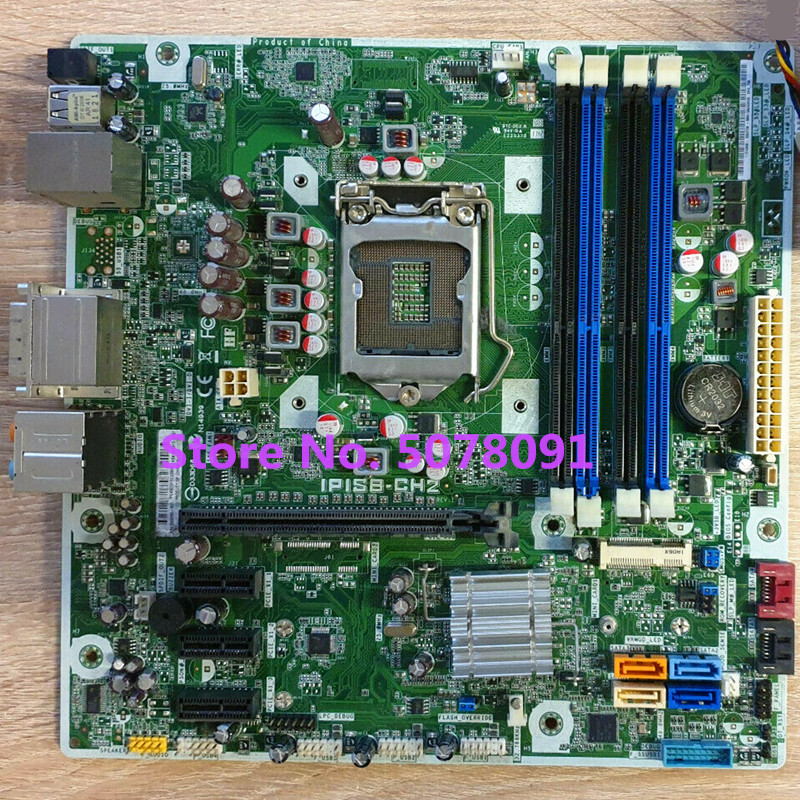 system mainboard fit for IPISB-CH2 656599-001 623913-003 <font><b>1155</b></font> DDR3 desktop motherboard image