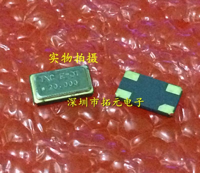 100pcs 6035 SMD Passive Crystal 20.000MHz 6.0*3.5 20MHz 20.000 Tetrapod Quartz Crystal Free Shipping
