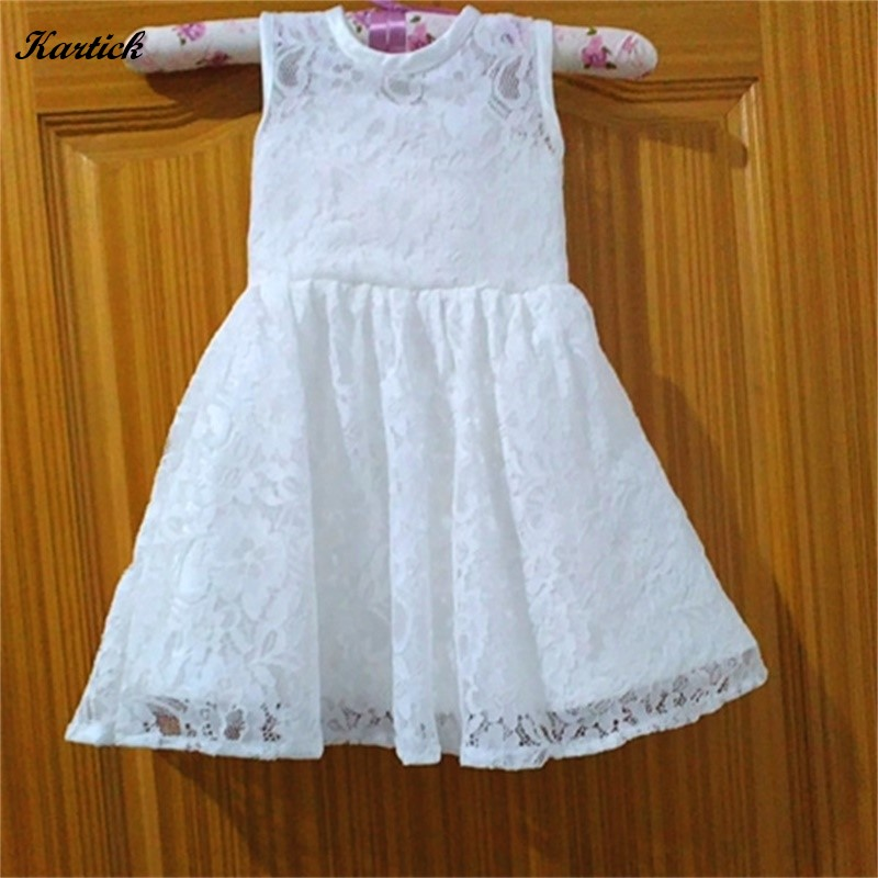 New Flower Girl Dresses for Wedding Keyhole Back Little Girls Kids/Children Dress Lace Ball Party Pageant Communion Dresses