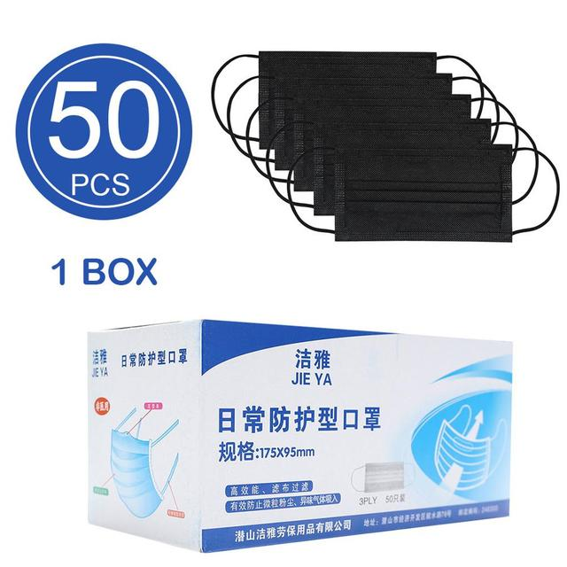 5/10/20/50pcs Disposable Masks Breathable Mouth Mask Disposable Ear loop Face Masks 1