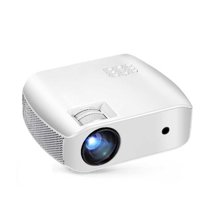 Мини-проектор F10 ЖК-проектор 2800 люмен 1280*720P 15000: 1 проектор для домашнего кинотеатра wifi светодиодный проектор для 1080P 3D домашнего кинотеатра