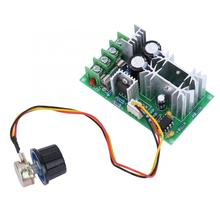 Motor Speed Controller 20A DC 9-60V Electric Motor Speed Controller Board PWM Motor Speed Regulator dc12 60v 10a rotary adjustable potentiometer knob pwm motor speed controller page 2