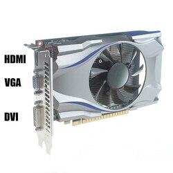 Б/у видеокарта Оригинал GT730 DDR5 4G 128bit HDMI HD игровая видео Графическая карта, видео-карты для настольного компьютера ПК