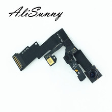 AliSunny 5pcs מצלמה קדמית עבור iPhone 6 6G 6 בתוספת בתוספת אור חיישן קרבה מול קטן מצלמת להגמיש כבל החלפת חלקים