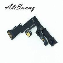 AliSunny 5pcs กล้องด้านหน้าสำหรับ iPhone 6 6G 6Plus Plus Light Sensor Proximity Facing ขนาดเล็ก Flex อะไหล่เปลี่ยนสายเคเบิล