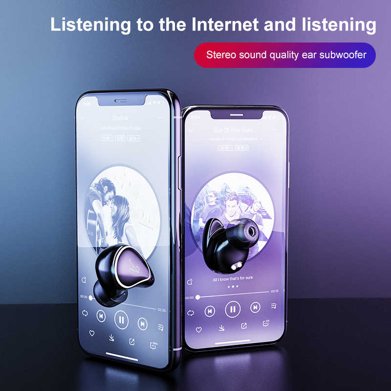 Macaron Touch Control A4 tws auriculares bluetooth 5,0 auriculares android impermeables mini auriculares estéreo con caja de carga