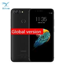"Global Versie Lenovo S5 K520 K520T Smartphone 4Gb 64Gb 5.7 ""18:9 Mobiele Telefoon Snapdragon 625 Dual Back camera Vingerafdruk"
