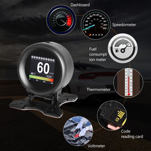Image 4 - AUTOOL pantalla HUD X60 X50 Pro para coche, detección de fallos, indicador de presión de combustible, voltímetro, Temperatu
