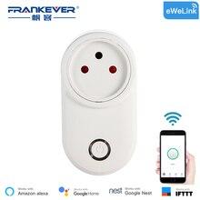 купить FrankEver Israel WIFI Smart Plug Smart Timing Socket Wireless Outlet Voice Intelligent Control  Work with Alexa Google home по цене 1054.47 рублей