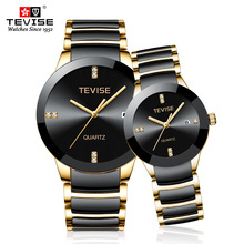 Couple Watches TEVISE T845 Fashion Lovers Watches