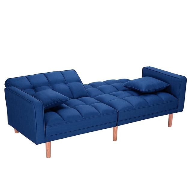 Dark Blue Sofas Bed Sleeper  3