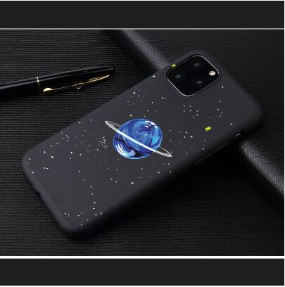 Phone Case For iPhone 6 6s 7 8 Plus X 5 5s SE Cover Cute Husky Dog Christmas Soft TPU Black Capa For iPhone 8 XR XS 11Pro Max thumbnail