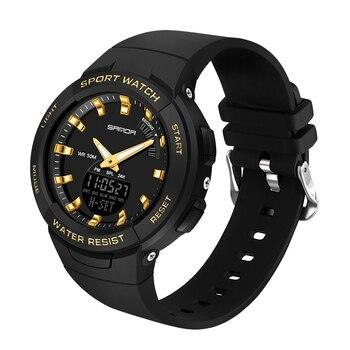 SANDA Woman Watch Relojes Para Mujer 2020 Luxury Brands S Waterproof Shock Men Digital Watches For Ladies LED Girls Sports Watch