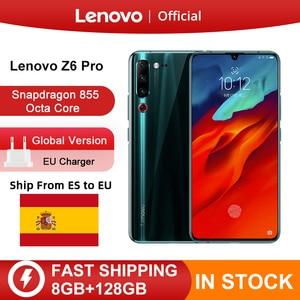 """Image 1 - Oryginalna globalna wersja Lenovo Z6 Pro 8GB 128GB Snapdragon 855 Octa Core 6.39 """"FHD wyświetlacz Smartphone tylne 48MP Quad kamery"""
