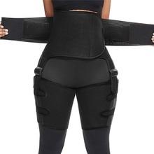Shaper Waist-Trainer Weight-Loss-Compression Thigh Trimmer Neoprene Girdle Lifter-Workout