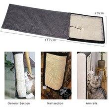 Коврик-Когтеточка для кошачьей мебели защита от царапин защита дивана моющиеся Сизалевые волокна дивана Щит Горячая Распродажа