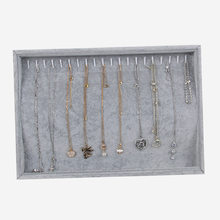 Wholesale Necklace Jewelry Display Rack Thick Accessories Storage Tray Ring Necklace Pendant Jewelry Plate(China)