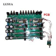 Lusya Accuphase C245 Voll Ausgewogene preamp PCB board with10 stücke board 1pc Wählen schalter bord T1205