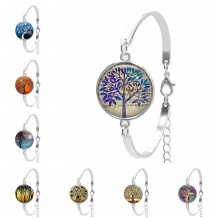 цены на 2019 New Hot Color Tree of Life, Color Starry Trend Series Pattern Ladies Bracelet, Life Lies In The Real Bracelet  в интернет-магазинах