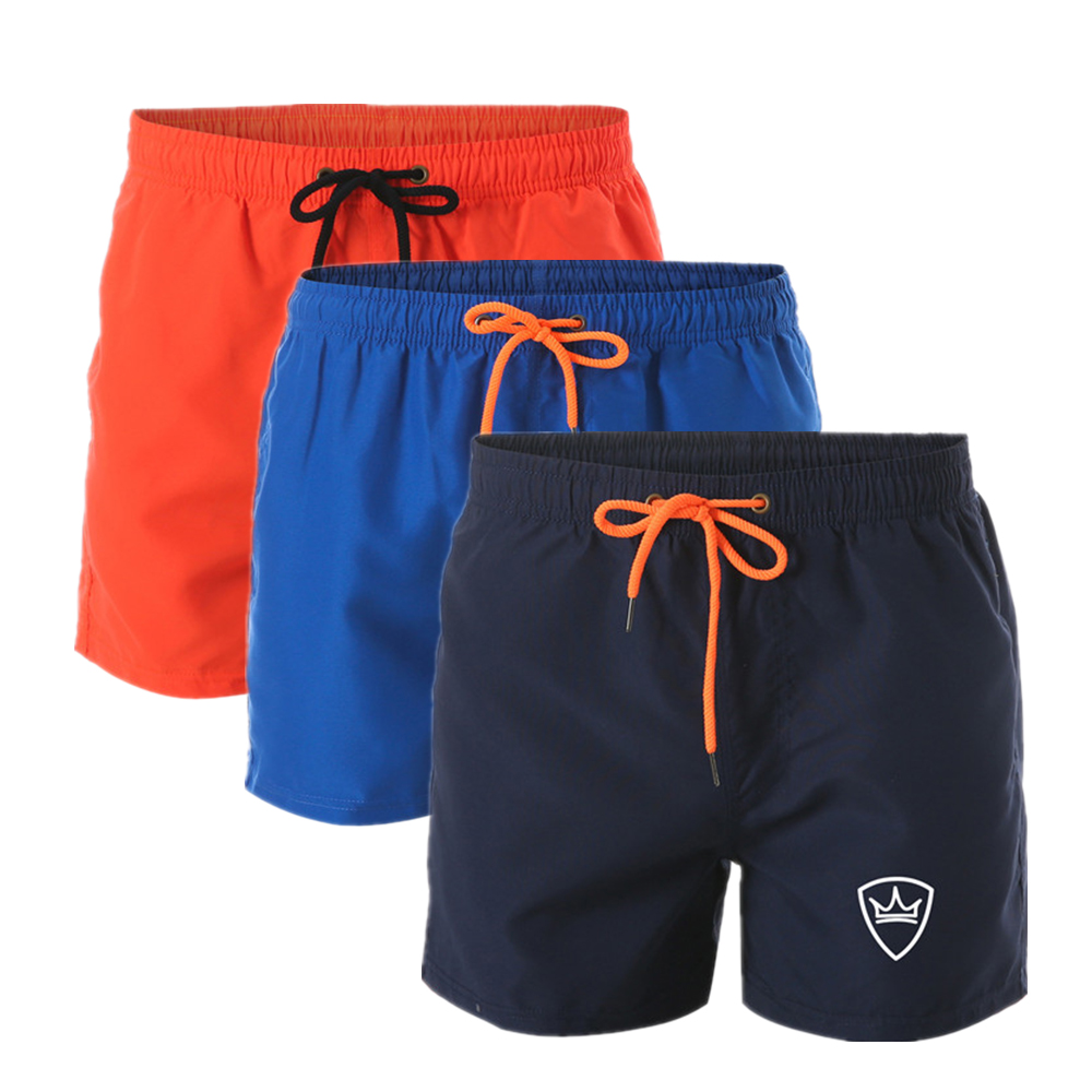 New Brand Men's Swim Shorts Swimwear Trunks Men's Beach Shorts Mens Swimming Short Swimsuits Mens Running Sports Surffing Shorts