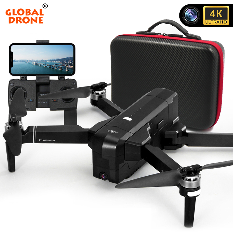 GPS Drone 4K RC Dron Profissional Follow Me 5G Wifi FPV Long Time Fly Quadrocopter Drones With Camera HD VS F24 SG906 F11 PRO