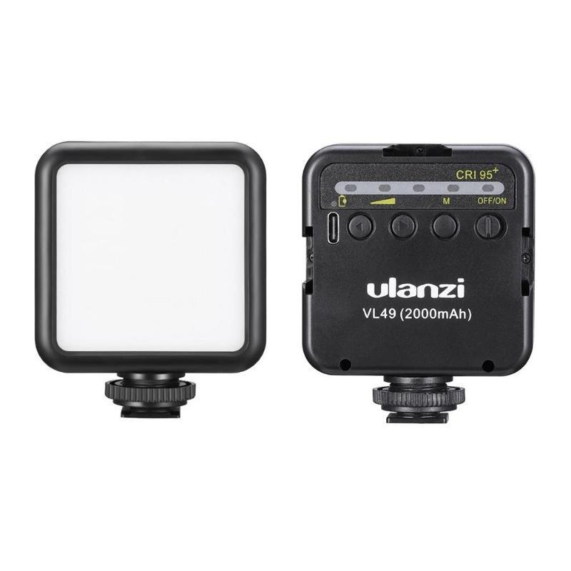 ULANZI VL49 Mini LED Video Light Built-in Battery Phone Camera Fill Lamp