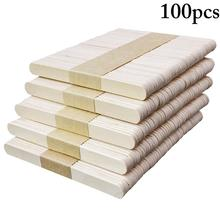 100PCS Popsicle Stick Ice Cube Maker Cream Tools Model Special-Purpose Wooden Craft Stick Lollipop Mold Accessories