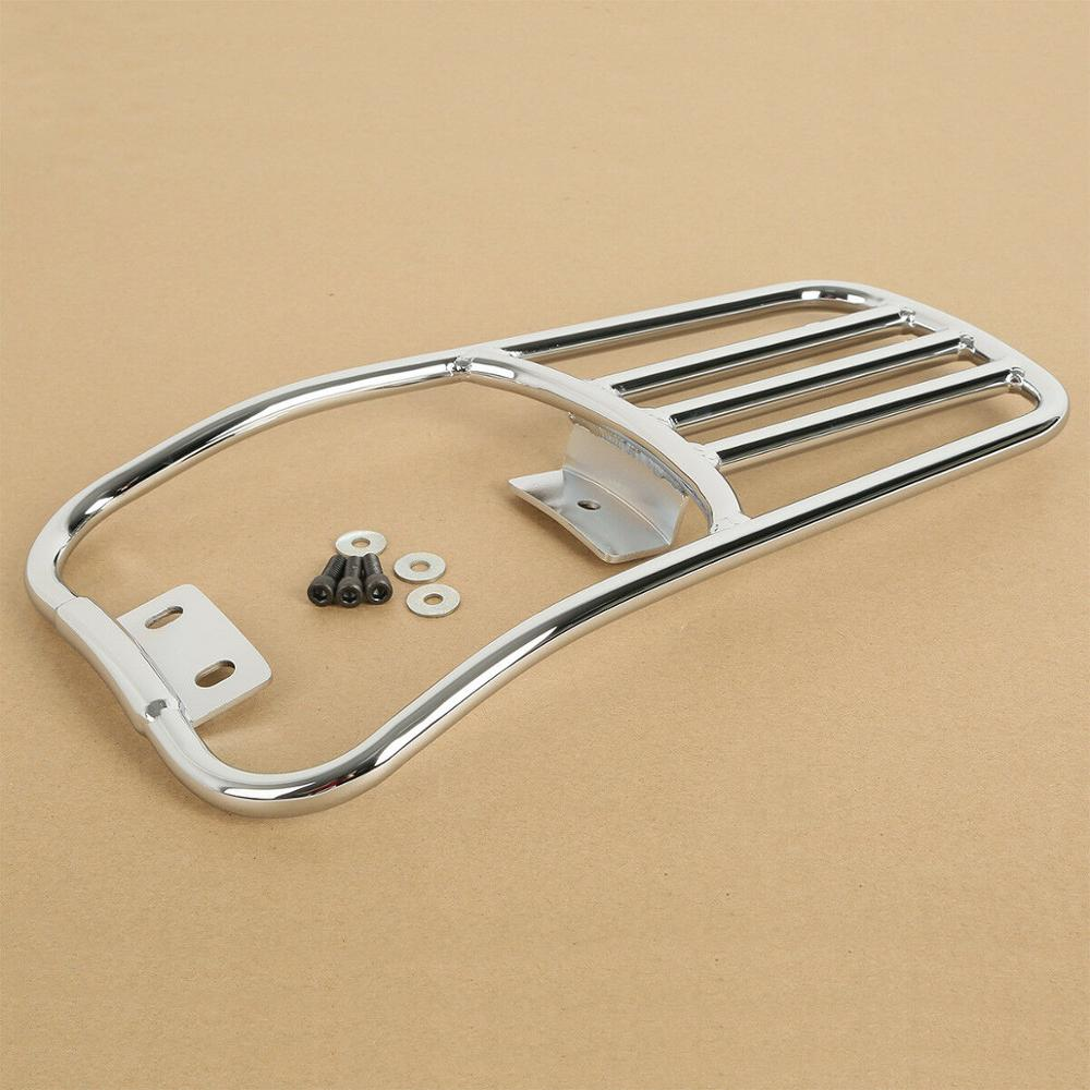Motorcycle Fender Luggage Rack For Harley Softail Deluxe 2006-2018 Fatboy 2007-2018 17 16 15