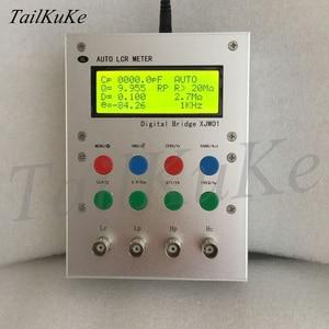 Image 5 - XJW01 цифровой мост 0.3% LCR тестер сопротивления, индуктивности, емкости, ESR, готовый продукт.