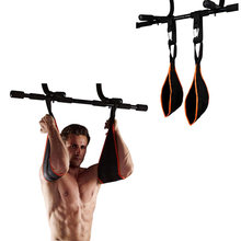 AB Sling Cinghie Addominale Cintura Appesa Chin Up Sit Up Bar Pullup Heavy Duty Muscolare Cinghia di Formazione Attrezzature Per L'allenamento dei Muscoli